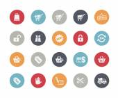 Shopping Icons -- Classics Series — Stock Vector