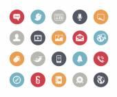 Social Media Icons -- Classics Series — Stock Vector