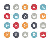 Interface Icons -- Classics Series — Stock Vector