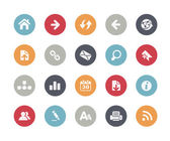 Web Icons -- Classics Series — Stock Vector