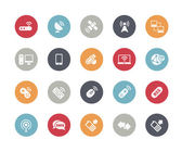 Wireless Communications Icons -- Classics Series — Stock Vector