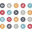 Shipping and Tracking Icons -- Classics Series — Stock Vector #75007005