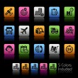 Shipping and Tracking Icons -- ColorBox Series — Stock Vector #80089058