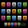 Connectivity Icons -- ColorBox Series — Stock Vector #80089344
