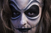 Cara de halloween — Fotografia Stock