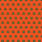 Joyful spring bright cheerful pattern  — Stock Vector
