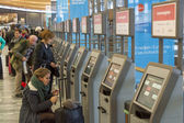 OSLO, NORWAY - 27 November 2014: Automatic passenger clearance a — Foto Stock