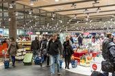 OSLO GARDERMOEN, NORWAY - NOVEMBER 3:Interior of Duty Free Shop — Stock Photo