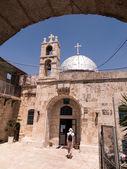 Pravoslavný kostel svatého Jana Křtitele v starý Jeruzalém, Izrael — Stock fotografie