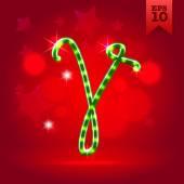 Decorative letter V — Stock Vector