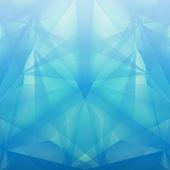 Abstract geometrical blue background. Vector Illustration — Stockvektor