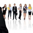 Young business team — Stock Photo #77268340