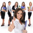 Young business team — Stock Photo #77268452