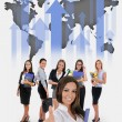 Young business team — Stock Photo #77268470