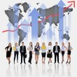 Young business team — Stock Photo #77268480