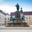 ������, ������: Hofburg Palace courtyard with Emperor Franz I monument