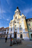 View of Brotherhood Baroque Church on Annenstrasse street — Stock Photo