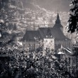 View of Brasov old city located in the central part of Romania — Stock Photo #61461905