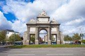 Gate of Toledo (Puerta de Toledo) on a sunny spring day in Madri — Stock Photo