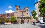Church of San Martin on a sunny spring day, Madrid — Stock Photo