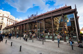 San Miguel Market (Mercado San Miguel) on city centre of Madrid — Stock Photo