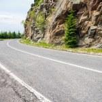 Famous Transfagarasan mountain winding road — Stock Photo #69092489