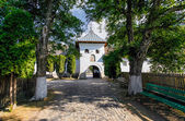 Old orthodox monastery from Polovragi — Stock Photo