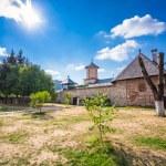 Old orthodox monastery from Polovragi — Stock Photo #75300103