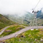 Transfagarasan mountain road from Romania — Stock Photo #77194305
