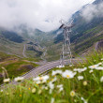 Transfagarasan mountain road from Romania — Stock Photo #77385150