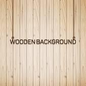 Vektor trä planka bakgrund — Stockvektor