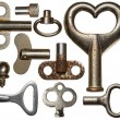 Old keys — Stock Photo #61489541