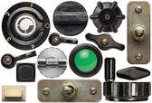 Old knobs — Stock Photo