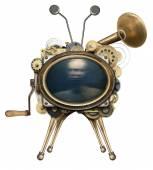 Steampunk TV — Stock Photo
