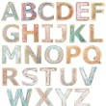 Wooden alphabet — Stock Photo #68817905