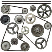 Pulleys — Stock Photo