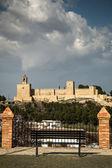 Castle hiszpania — Zdjęcie stockowe