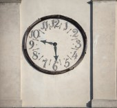 Clock venice — Stockfoto