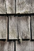 Rustic wooden shingles — Stock Photo