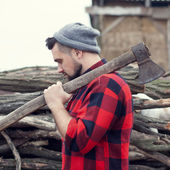 Hipster guy — Stock Photo