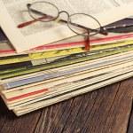 Old magazines — Stock Photo #56460659