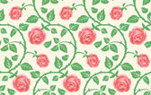 Seamless texture, flower of roses. — Stok Vektör