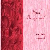 Ethnic ornament invitation card. — Stockvektor