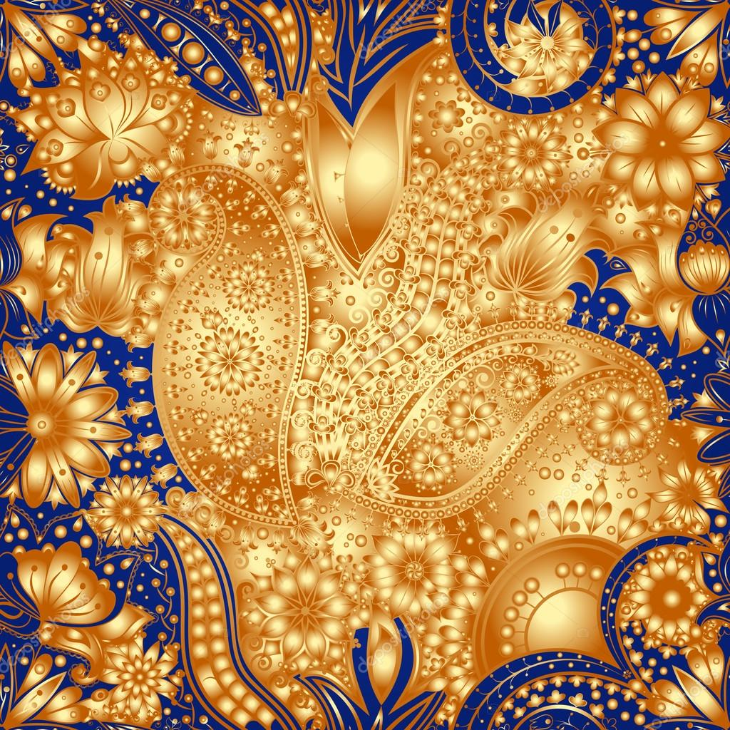 抽象的花边图案.手绘图炫彩壁纸