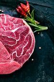 原料肉 — 图库照片