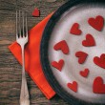 Valentines dinner — Stock Photo #62202201