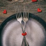 Valentines dinner — Stock Photo #62202627