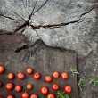 Fresh tomatoes — Stock Photo #70158955