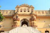 Hawa Mahal - Wind Palace in Jaipur, Rajasthan, India — Stock Photo