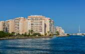 Tomas Maestre Harbor, La Manga, Murcia — Stock Photo